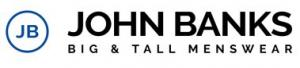John Banks Big & Tall Menswear Voucher Codes